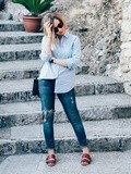 Total Look Bleu