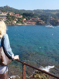 Jess in September - Collioure