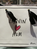 Lanvin Loves h&m – En rouge & noir