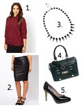 "Soldes asos: Look ""working girl"""