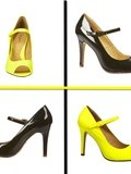 Envie mode du moment :  Esacarpin Noir ou Jaune flashy
