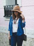 Le look total jean en version jour
