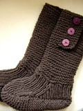 Tricot boots