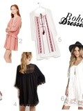 Mood board #15 : Boho dresses