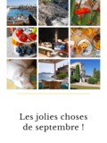 Les jolies choses de septembre 2019