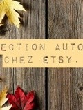Shopping automnal chez Etsy