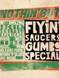 Musique, Flyin' Saucers Gumbo Special nouvel album Nothin' But
