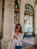 Blouse & Sac en perles – Elodie in Paris