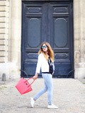 Casual jeans – Elodie in Paris