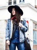 Cowboy & Denim – Elodie in Paris