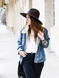 Denim jacket – Elodie in Paris