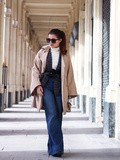 Flare and Kimono – Elodie in Paris