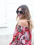 Floral dress – Elodie in Paris