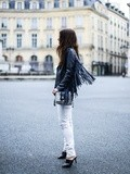 Fringed Perfecto – Elodie in Paris