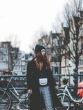 In the streets of Amsterdam – Elodie in Paris
