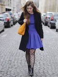 La Robe Bleue – Elodie in Paris