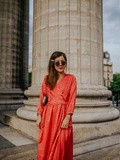La Robe en Satin – Elodie in Paris