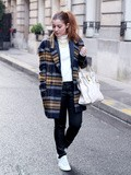 Le Manteau Boyfriend – Elodie in Paris