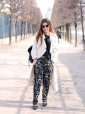 Le Pantalon Imprime – Elodie in Paris
