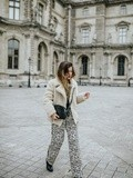 Le Pantalon Leopard – Elodie in Paris