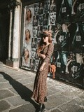 Leopard dress – Elodie in Paris