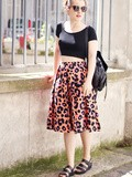 Leopard Skirt – Elodie in Paris