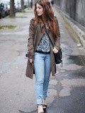 Look en Jeans – Elodie in Paris