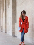 Matching shoes & coat – Elodie in Paris