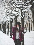 Paris sous la neige – Elodie in Paris