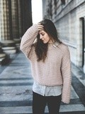 Pink Knit – Elodie in Paris