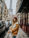 Preppy Parisian – Elodie in Paris