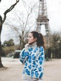 Pull Leopard – Elodie in Paris