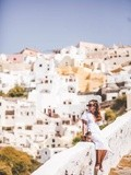 Santorini – Elodie in Paris