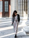 Striped co-ord – Elodie in Paris