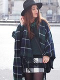 Tartan & Instant Bleu Guess – Elodie in Paris
