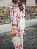 The Boho Dress – Elodie in Paris