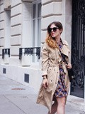 The long trench – Elodie in Paris