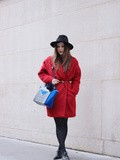 The Red Coat – Elodie in Paris