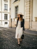 Total Denim – Elodie in Paris