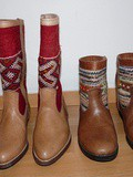 Kilim boots from Marrakech