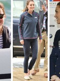 Le look navy de Kate Middleton