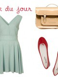 Look du jour #4 – Repetto Rouges & Sac cartable pastel Asos