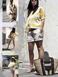 Look 5 – Yellow Stripes