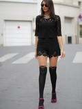 Tendance collants fantaisies
