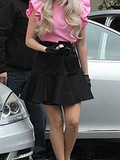 Look of the day ... Lady Gaga en rose bonbon ;)