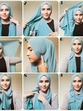 Aneka Tutorial Hijab Pashmina Favorit
