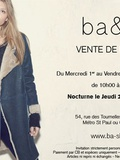 Invitation ventes presse chez ba&sh