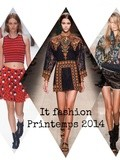 Les « it fashion » indispensables du printemps 2014