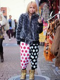 Japan #8: Sweat pants vs faux fur jacket in Harajuku, Tokyo