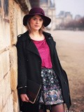 #PhotoShoot Stella à Paris, aux Tuileries